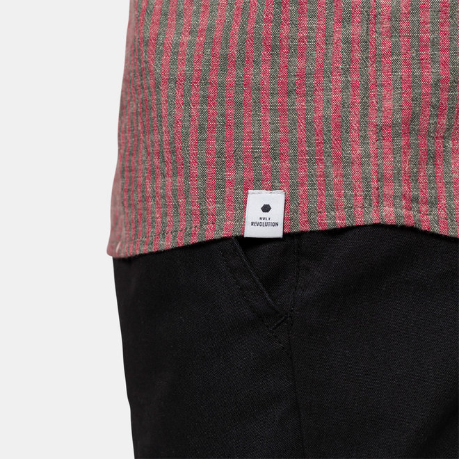 Oluf Long Sleeve Shirt in Red