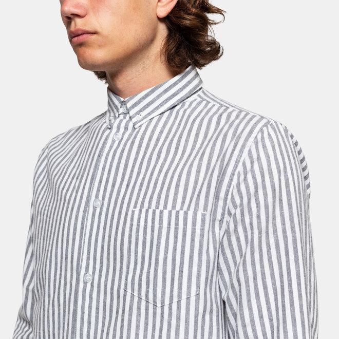 Oluf Long Sleeve Shirt in Grey