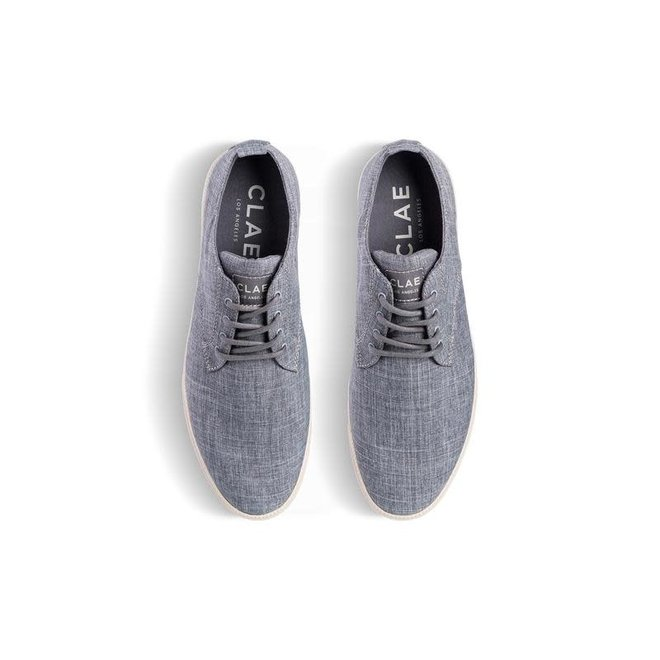 Ellington Textile in Pavement Recycled Chambray