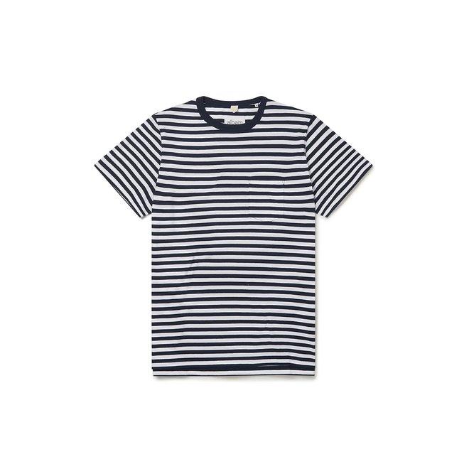 Classic Stripe T-Shirt in Navy/White
