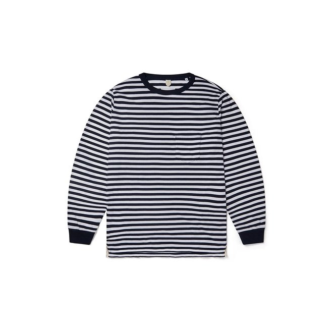 Classic Stripe T-Shirt in Navy/White
