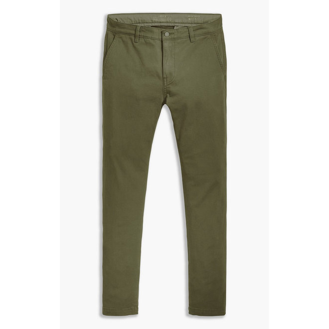 Slim Taper Chino in Bunker Olive