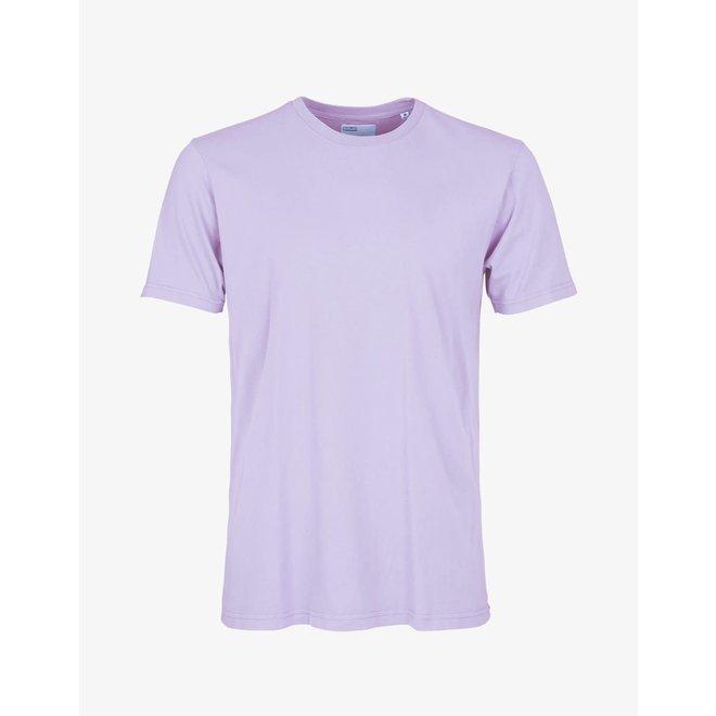 Classic Organic Short Sleeve T-Shirt in Soft Lavender