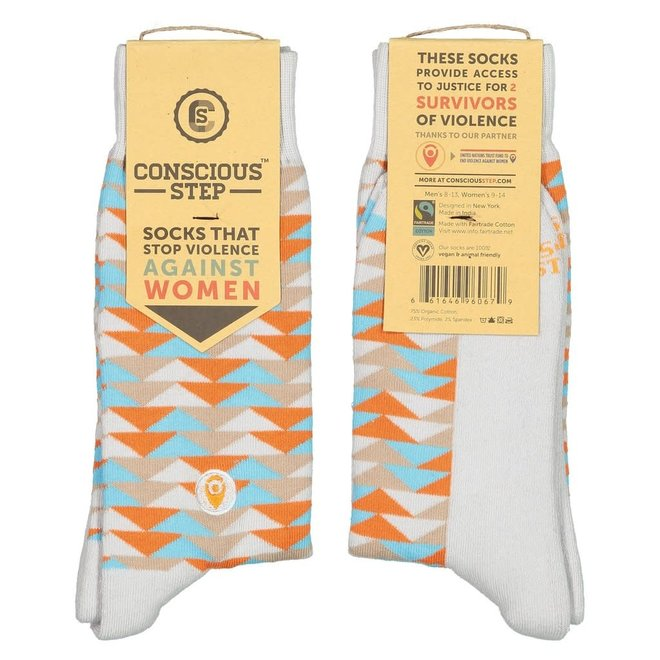 Socks That Stop Violence Against Women