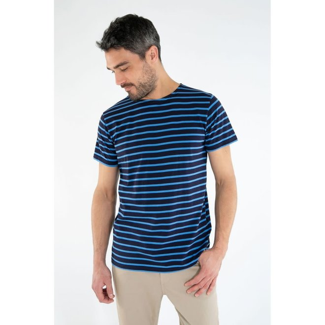 Sailor T-Shirt in Navire/Lapis