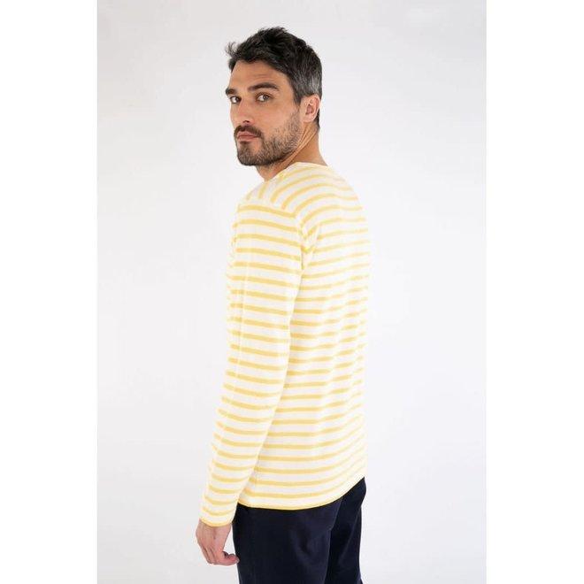 Mariniere Heritage Sweatshirt in Nature/Blondeur