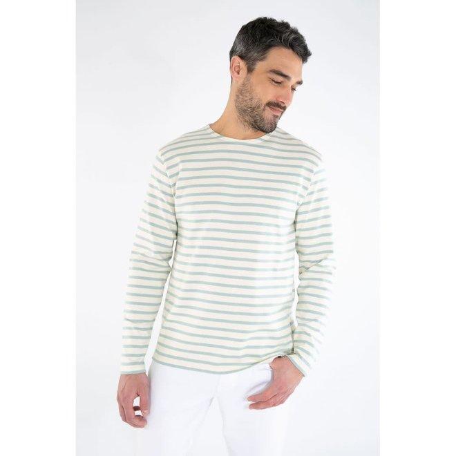 Mariniere Heritage Sweatshirt in Nature/Marsouin