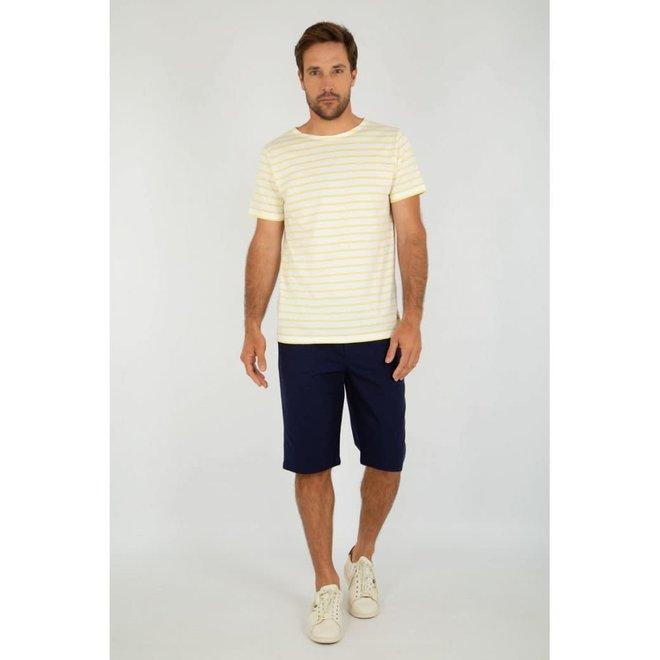 Sailor Short Sleeve T-Shirt in Blanc/Blondeur