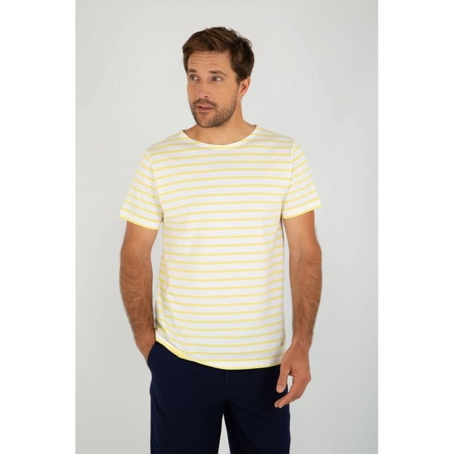 Sailor T-Shirt in Blanc/Blondeur