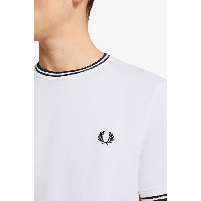 Twin Tipped T-Shirt in White