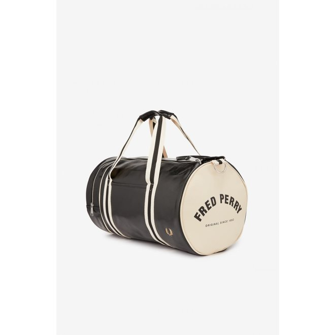 Classic Barrel Bag in Black
