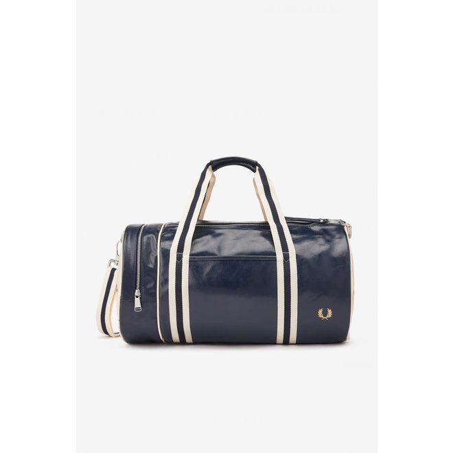 Classic Barrel Bag in Navy