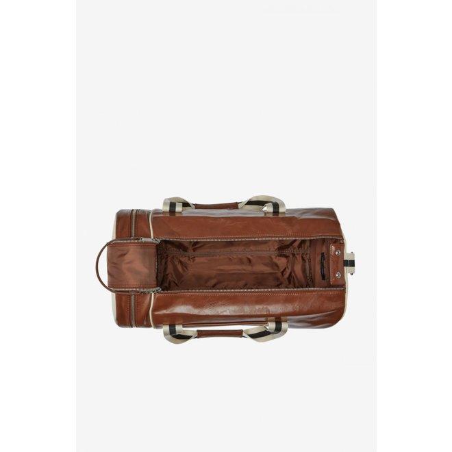 Classic Barrel Bag in Tan