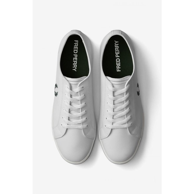 Kingston Leather Trainers in White