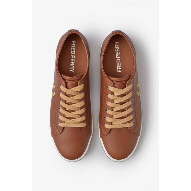 Kingston Leather Trainers in Tan