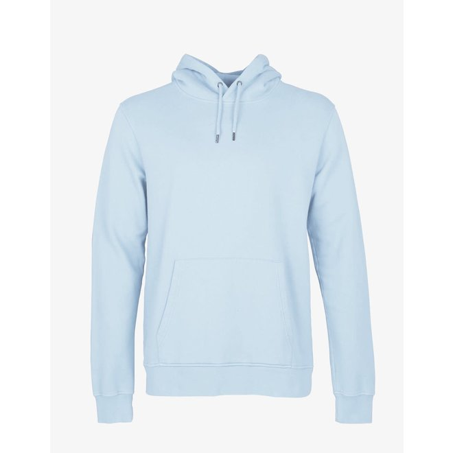 Classic Organic Hoodie in Polar Blue
