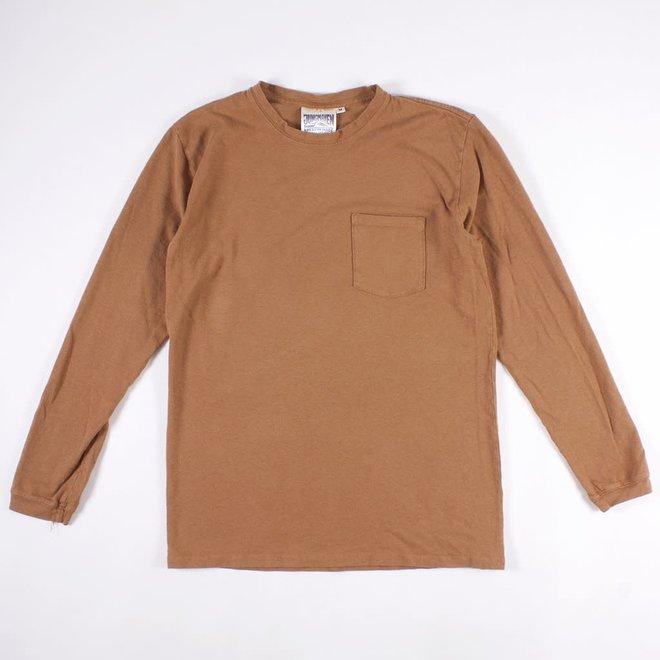 Baja Pocket Long Sleeve T-Shirt in Coyote