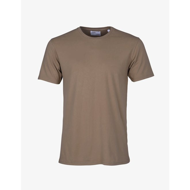 Classic Organic T-Shirt in Warm Taupe