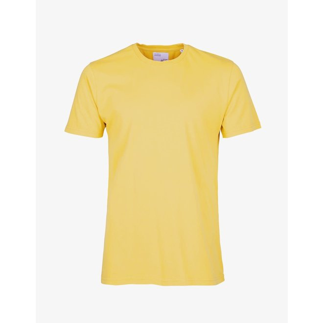 Classic Organic T-Shirt in Lemon Yellow