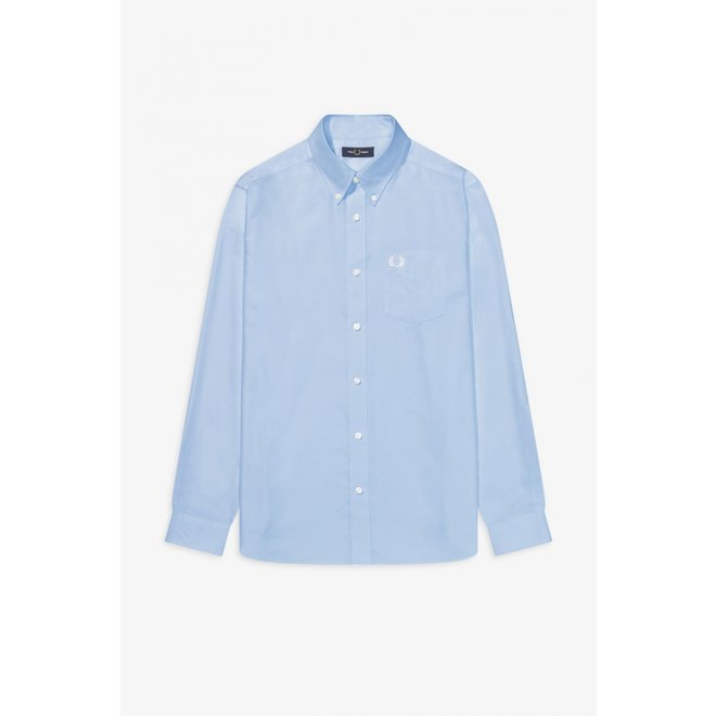Oxford Shirt in Light Smoke