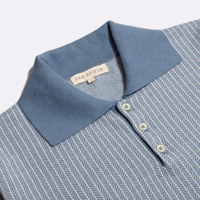 Blakey Polo Shirt in Stonewash
