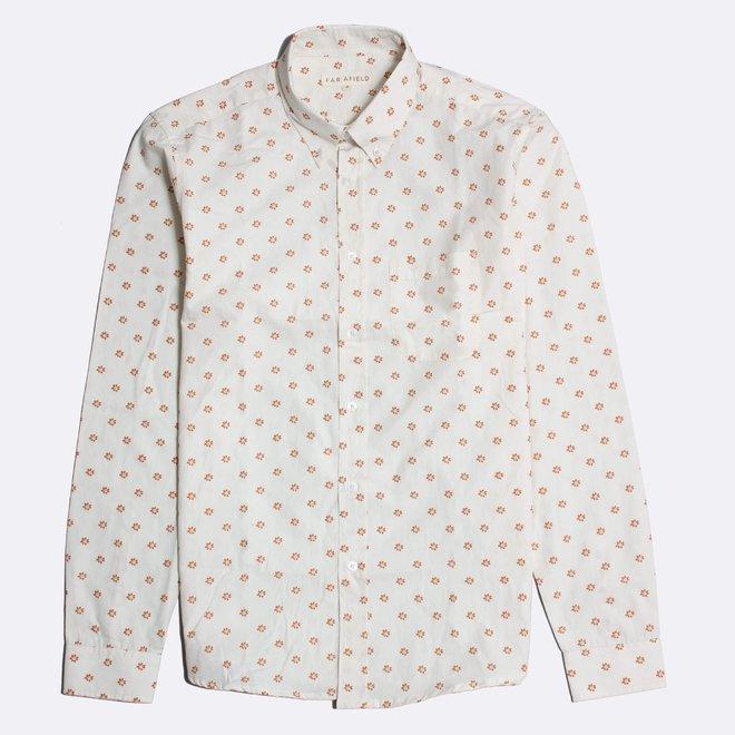 Mod Button Down Shirt - Flower Power