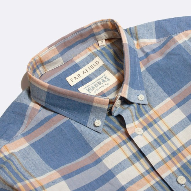 Casual Button Down Shirt - Salines Check