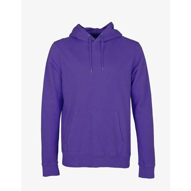 Classic Organic Hoodie in Ultra Violet