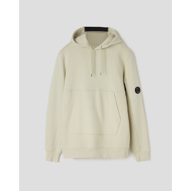 Garment Dyed Light Fleece Lens Sweat in Oyster Grey