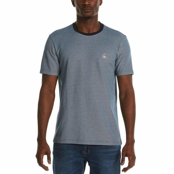 Jacquard T-Shirt in Dark Sapphire