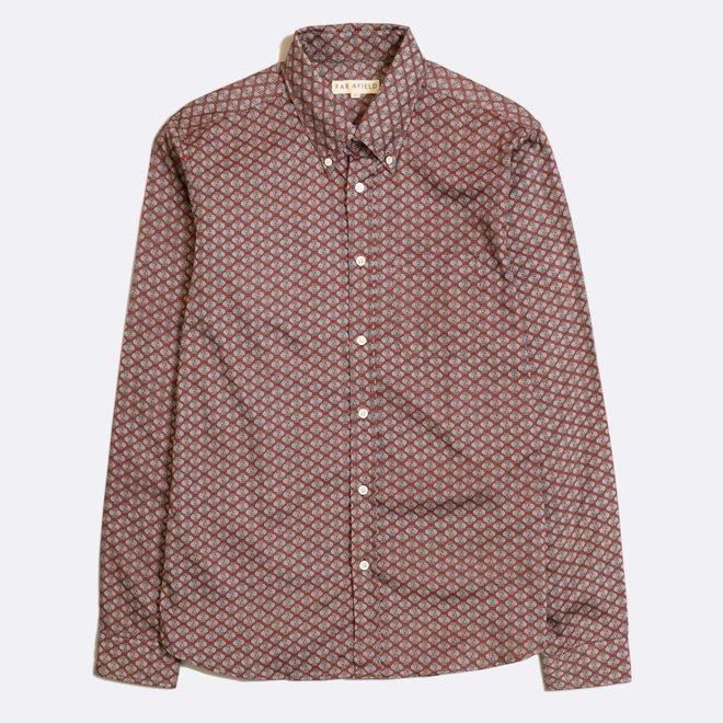 Mod Button Down Shirt - Varvara Floral Print