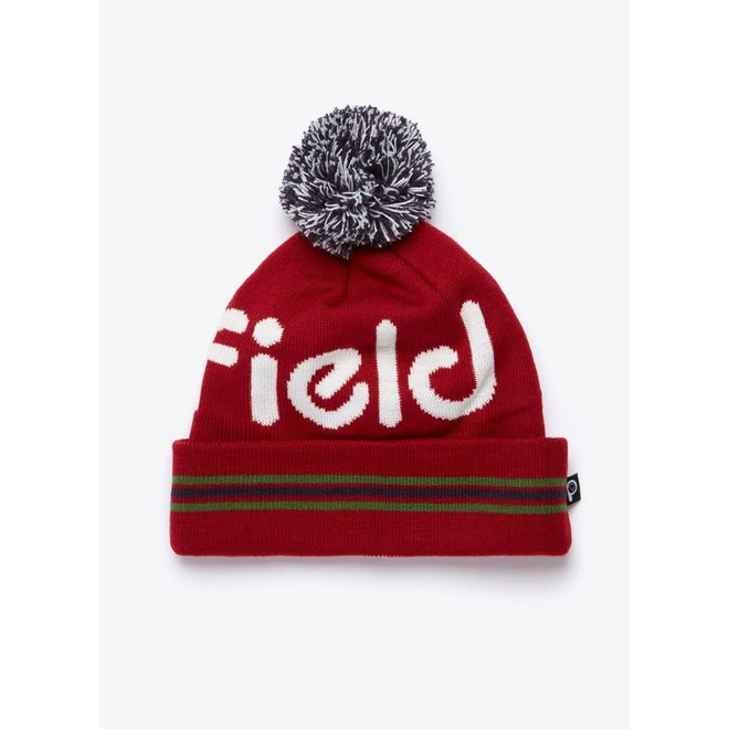 Clissold Beanie in Chili Red