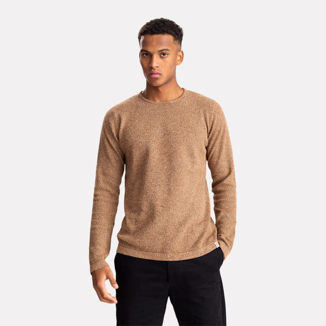 Multi-Coloured Knit in Brown
