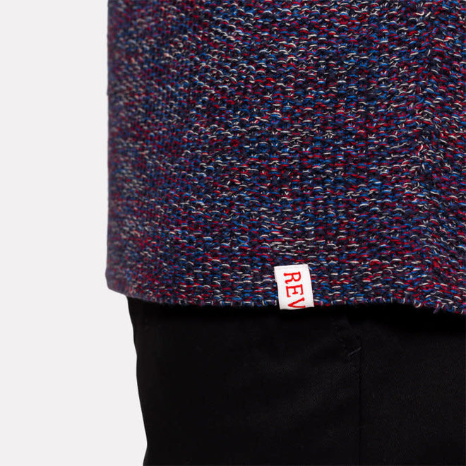 Raglan Knit in Blue
