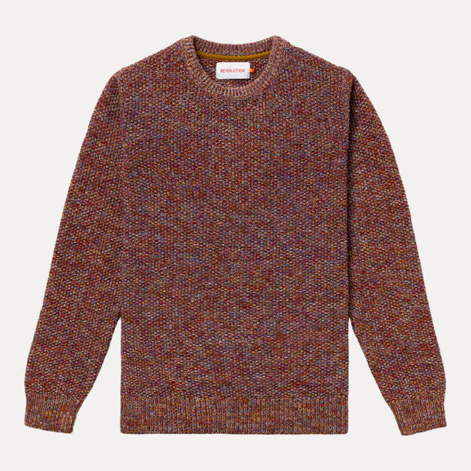 Multi-Coloured Knit in Khaki