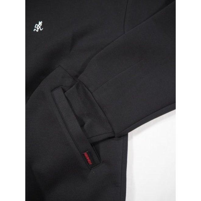 Tech Knit Stadium Jacket in Black