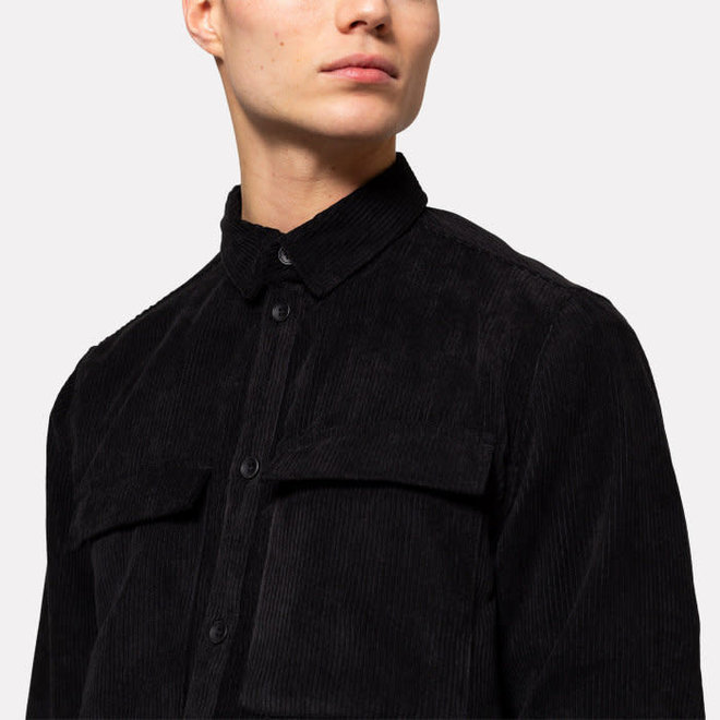 Utility Shirt in Black