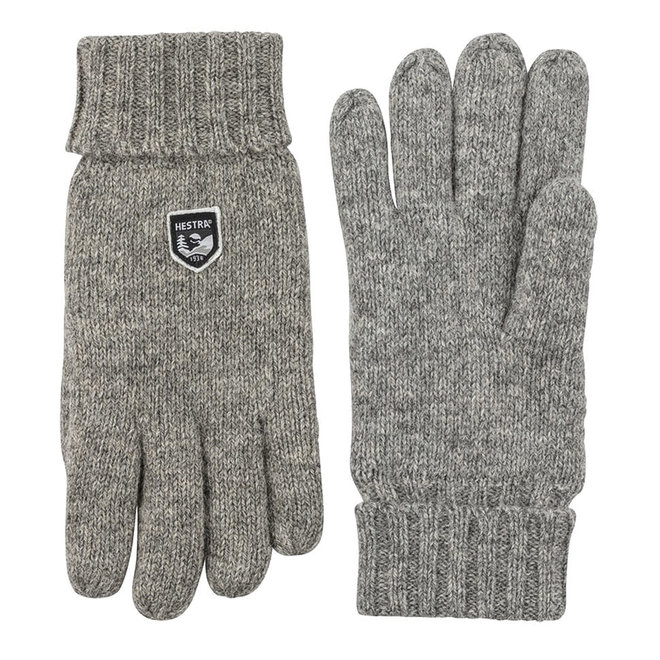 Basic Wool Glove in Grey