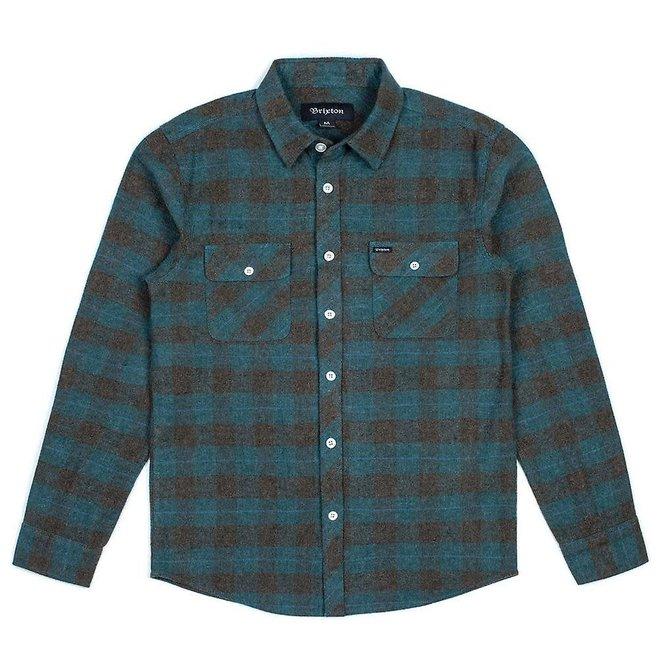 Bowery Flannel Shirt in Ocean