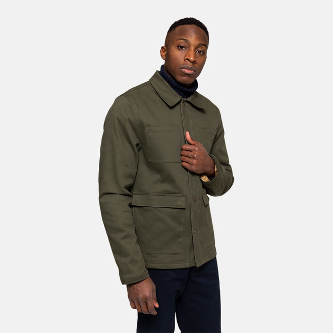 Utility Jacket in Army