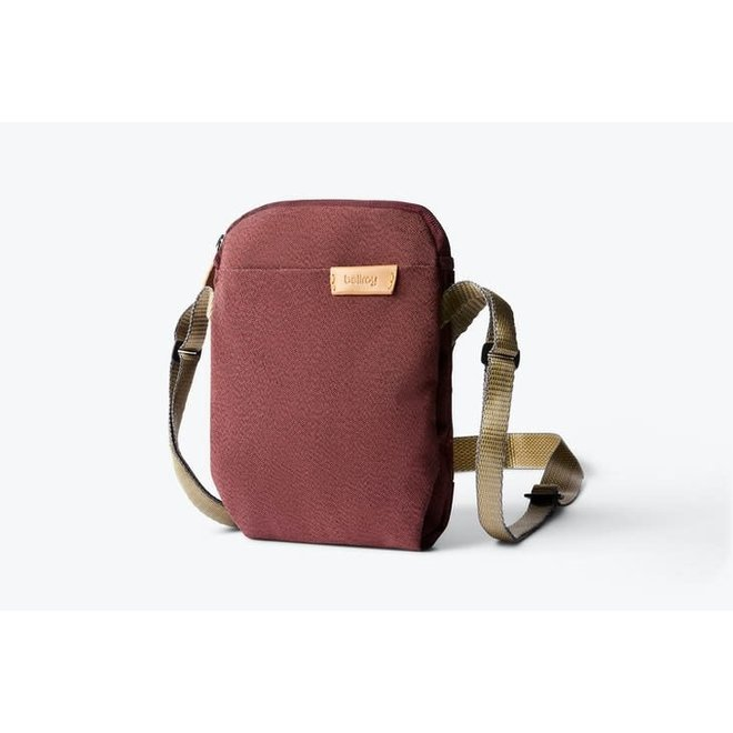 City Pouch in Red Earth