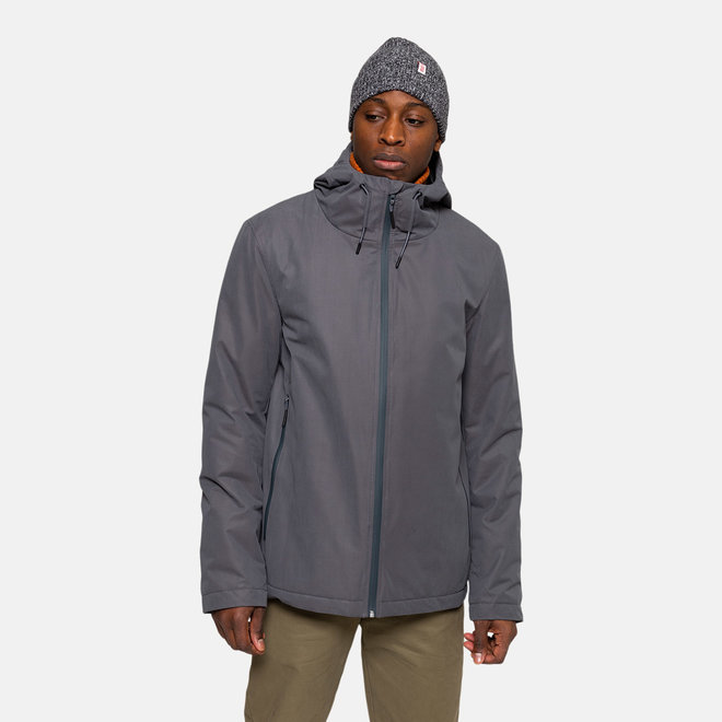 Padded Windbreaker in Grey