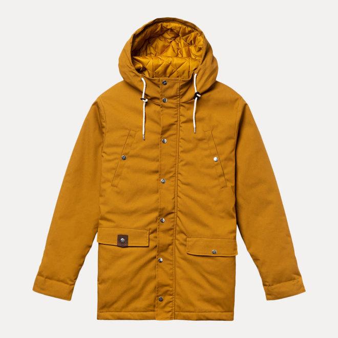 Parka Jacket in Brown