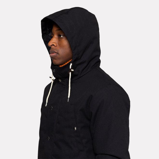Parka Jacket in Black