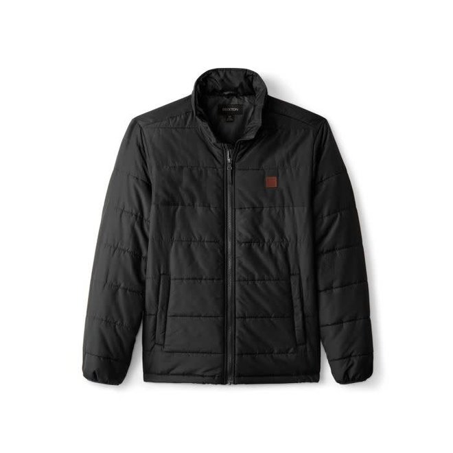 Cass Puffer Jacket in Black
