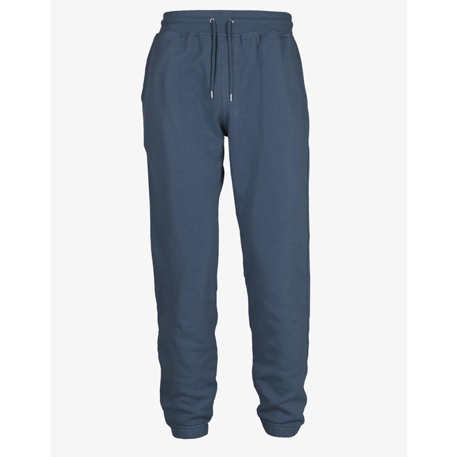 Classic Organic Sweatpants in Petrol Blue