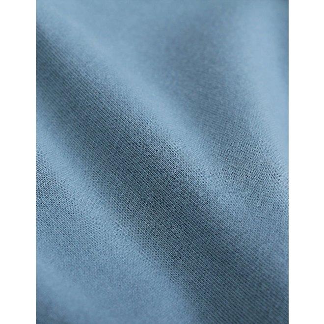 Classic Organic Hoodie in Stone Blue