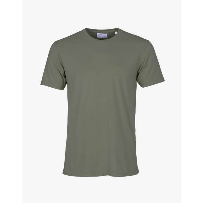 Classic Organic T-Shirt in Dusty Olive