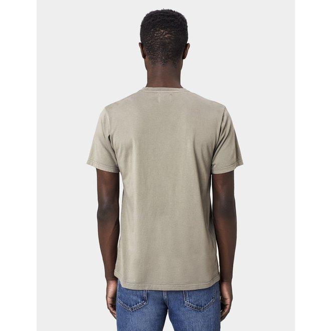Classic Organic T-Shirt in Snow Melange