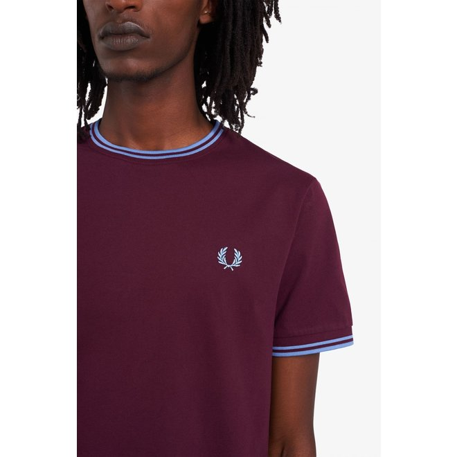 Twin Tipped T-Shirt in Mahogany